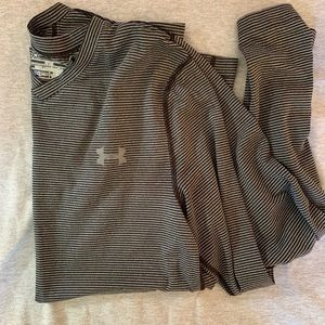Striped Under Armour Cold Weather Long Sleeve